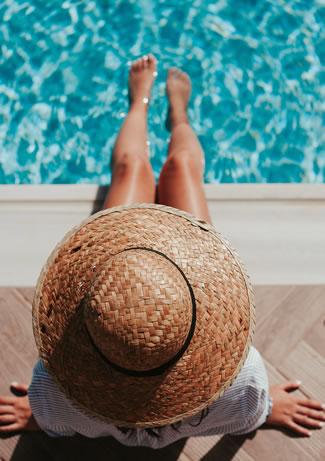 eden hotel havuz kadın